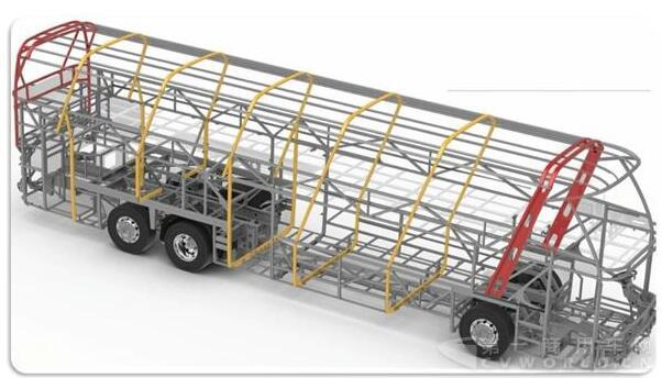 车身结构的电动客车