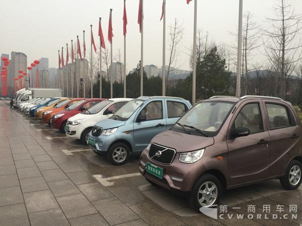 唐骏汽车展示新能源电动汽车-2017目标增长10 60年唐骏转型升级初见高清图片