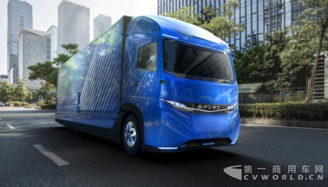 戴姆勒卡车发布纯电动重卡概念车 或于4年内推出.jpg