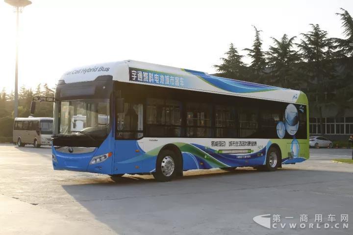 宇通氢燃料电池客车
